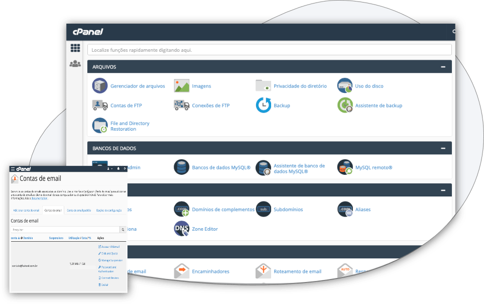 cpanel home 1