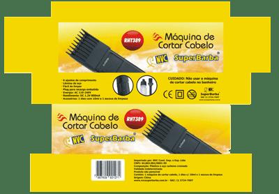 emba cortador cabelo nvc 3