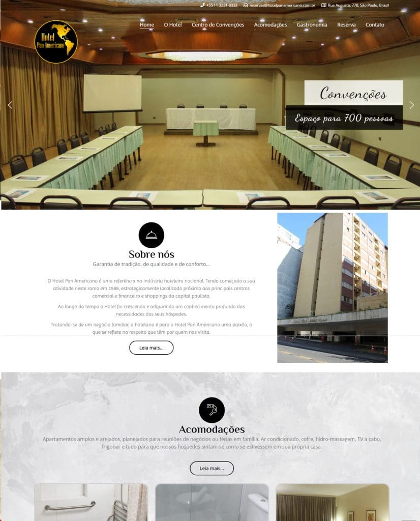 site hotel panamericano
